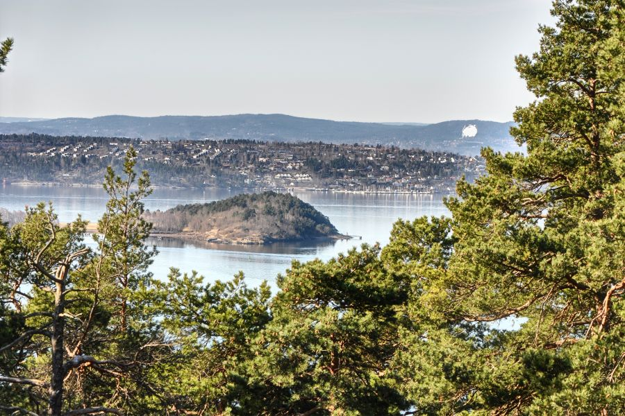 The view from Ekeberg hill